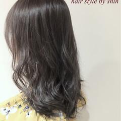ロング デート ガーリー パーマ ヘアスタイルや髪型の写真・画像