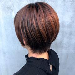 ナチュラル ショート ナチュラル可愛い ショートヘア ヘアスタイルや髪型の写真・画像