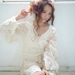 ゆるふわ 愛され 外国人風 ヘアアレンジ ヘアスタイルや髪型の写真・画像