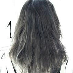 外国人風 モード 大人女子 ハイライト ヘアスタイルや髪型の写真・画像