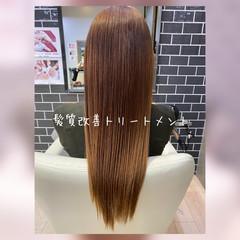 モテ髪 エレガント トリートメント ロング ヘアスタイルや髪型の写真・画像