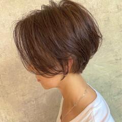 ショートボブ 小顔ショート ショートヘア ショート ヘアスタイルや髪型の写真・画像