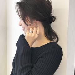 ウェーブ ナチュラル ロング ヘアアレンジ ヘアスタイルや髪型の写真・画像