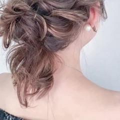ヘアアレンジ デート ルーズ  ヘアスタイルや髪型の写真・画像