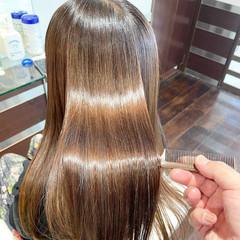 ナチュラル 最新トリートメント 髪質改善 髪質改善トリートメント ヘアスタイルや髪型の写真・画像