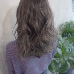 ショート ストリート セミロング ゆるふわ ヘアスタイルや髪型の写真・画像