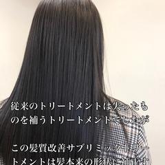 セミロング ミディアムヘアー グレージュ ナチュラル ヘアスタイルや髪型の写真・画像
