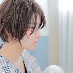 ハンサム かっこいい 簡単 ショート ヘアスタイルや髪型の写真・画像