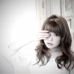 フェミニン モテ髪 ナチュラル セミロング ヘアスタイルや髪型の写真・画像