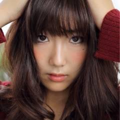 前髪あり 卵型 ミディアム コンサバ ヘアスタイルや髪型の写真・画像