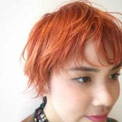 ストリート ウルフカット ショート 抜け感 ヘアスタイルや髪型の写真・画像
