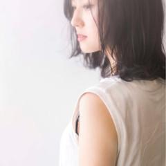 透明感 ゆるふわ アンニュイ ナチュラル ヘアスタイルや髪型の写真・画像