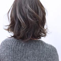 グラデーションカラー ボブ 色気 パーマ ヘアスタイルや髪型の写真・画像