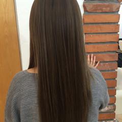 ロング ストリート ミルクティーベージュ ブルージュ ヘアスタイルや髪型の写真・画像