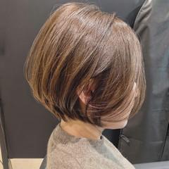 ハイライト ナチュラル ショート ショートヘア ヘアスタイルや髪型の写真・画像