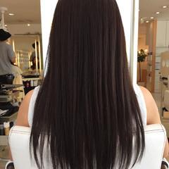 大人女子 ストレート 縮毛矯正 大人かわいい ヘアスタイルや髪型の写真・画像