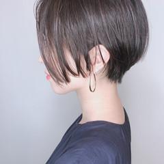 ショート モード ショートボブ ハンサムショート ヘアスタイルや髪型の写真・画像