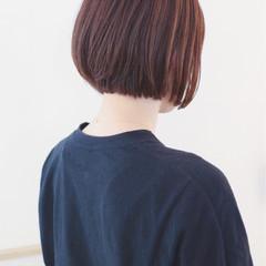 グラデーションカラー ボブ 透明感 外国人風カラー ヘアスタイルや髪型の写真・画像