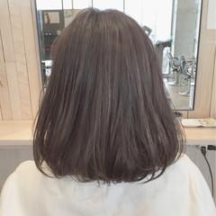 ハイライト ブルージュ ボブ レイヤーカット ヘアスタイルや髪型の写真・画像