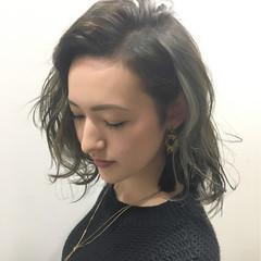 暗髪 ストリート 色気 外国人風 ヘアスタイルや髪型の写真・画像