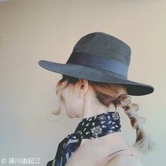 モード ゆるふわ デート ハイライト ヘアスタイルや髪型の写真・画像