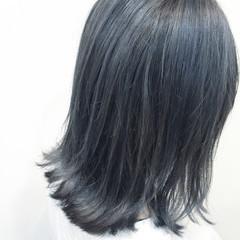 ボブ 外ハネ モード ブルージュ ヘアスタイルや髪型の写真・画像