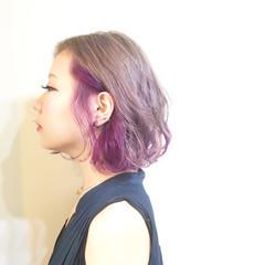 ワイドバング ショート ショートボブ ストリート ヘアスタイルや髪型の写真・画像