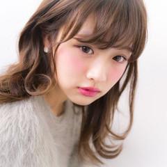 透明感 おフェロ ガーリー 秋 ヘアスタイルや髪型の写真・画像