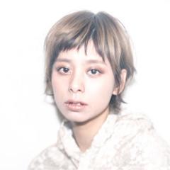 前髪あり ガーリー ハイライト 外国人風 ヘアスタイルや髪型の写真・画像