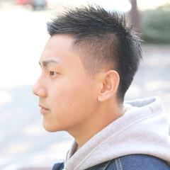 メンズヘア 福岡市 ショートヘア メンズショート ヘアスタイルや髪型の写真・画像