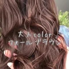 フェミニン 透明感 ロング エフォートレス ヘアスタイルや髪型の写真・画像
