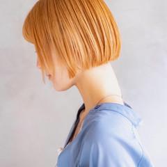 ショートボブ ボブ ミニボブ デート ヘアスタイルや髪型の写真・画像