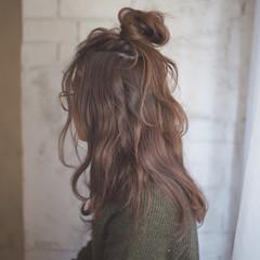 ハーフアップ ゆるふわ 大人女子 簡単ヘアアレンジ ヘアスタイルや髪型の写真・画像