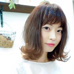 ショート 透明感 簡単ヘアアレンジ ベージュ ヘアスタイルや髪型の写真・画像