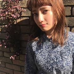 デート ナチュラル 透明感 パーマ ヘアスタイルや髪型の写真・画像