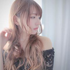 エレガント 女子会 パーマ アンニュイ ヘアスタイルや髪型の写真・画像