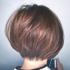 デート ナチュラル 色気 ボブ ヘアスタイルや髪型の写真・画像