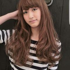 大人かわいい フェミニン パーマ ハイライト ヘアスタイルや髪型の写真・画像