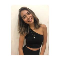 ミディアム 外国人風カラー ハイライト ヘルシースタイル ヘアスタイルや髪型の写真・画像