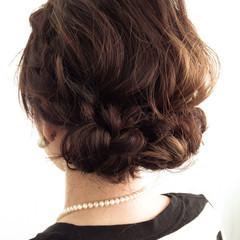 フェミニン ベージュ ナチュラル ショート ヘアスタイルや髪型の写真・画像