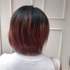 フェミニン 艶髪 ショート デート ヘアスタイルや髪型の写真・画像