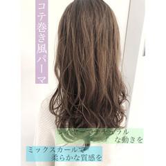 パーマ 外国人風 デジタルパーマ 大人かわいい ヘアスタイルや髪型の写真・画像