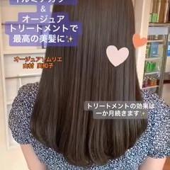 髪質改善 美髪 ナチュラル 髪質改善トリートメント ヘアスタイルや髪型の写真・画像