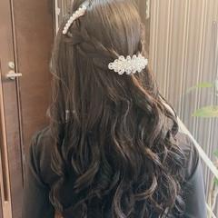 簡単ヘアアレンジ ヘアアレンジ 編み込み 編み込みヘア ヘアスタイルや髪型の写真・画像