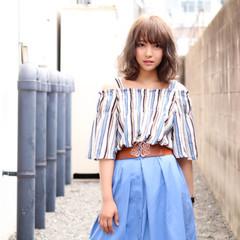 透明感 夏 大人女子 かっこいい ヘアスタイルや髪型の写真・画像