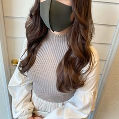 エレガント 艶髪 ヨシンモリ 韓国ヘア ヘアスタイルや髪型の写真・画像