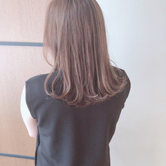 ガーリー かわいい ヘアアレンジ セミロング ヘアスタイルや髪型の写真・画像