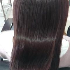 透明感 超音波 ミディアム 髪質改善トリートメント ヘアスタイルや髪型の写真・画像