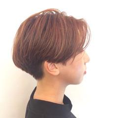 ナチュラル ハイライト ボブ 外国人風 ヘアスタイルや髪型の写真・画像