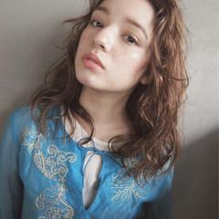ミディアム 外国人風 ストリート ハイライト ヘアスタイルや髪型の写真・画像